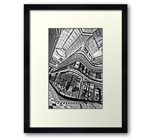 Barton Arcade, Manchester (B&W) Framed Print