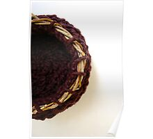 Contain: Textile Art Vessel by Megan Walsh-Cheek Poster