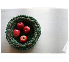 Gather: Textile Art Vessel by Megan Walsh-Cheek Poster