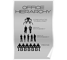 Office Hierarchy Poster