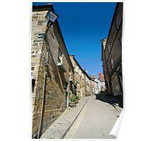 View up Kings Street, Robin Hoods Bay Poster