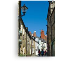 Pedestrians climbing Kings Street Canvas Print