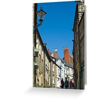 Pedestrians climbing Kings Street Greeting Card
