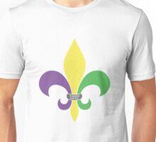 Mardi Gras Fleur De Lis Unisex T-Shirt