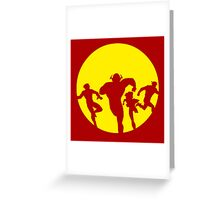 Flash family Greeting Card