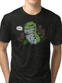 Catzilla! Tri-blend T-Shirt