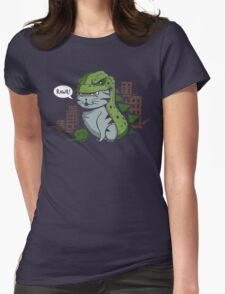 Catzilla! Womens Fitted T-Shirt