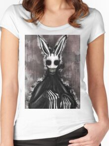 The Easter Bunny Women's Fitted Scoop T-Shirt