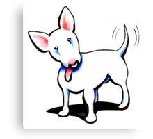 Pure Bull (Terrier) Canvas Print