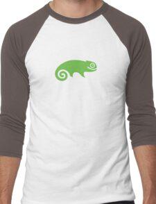 Suse Chameleon Logo Men's Baseball ¾ T-Shirt