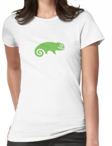 Suse Chameleon Logo Womens Fitted T-Shirt