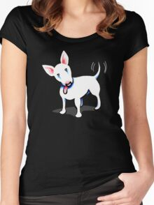 Pure Bull (Terrier) - Dark Women's Fitted Scoop T-Shirt