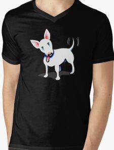 Pure Bull (Terrier) - Dark Mens V-Neck T-Shirt