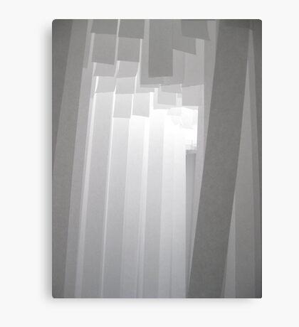 White paper Canvas Print