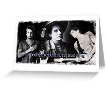 "John Mayer ""Whisky, Whisky, Whisky"" Greeting Card"