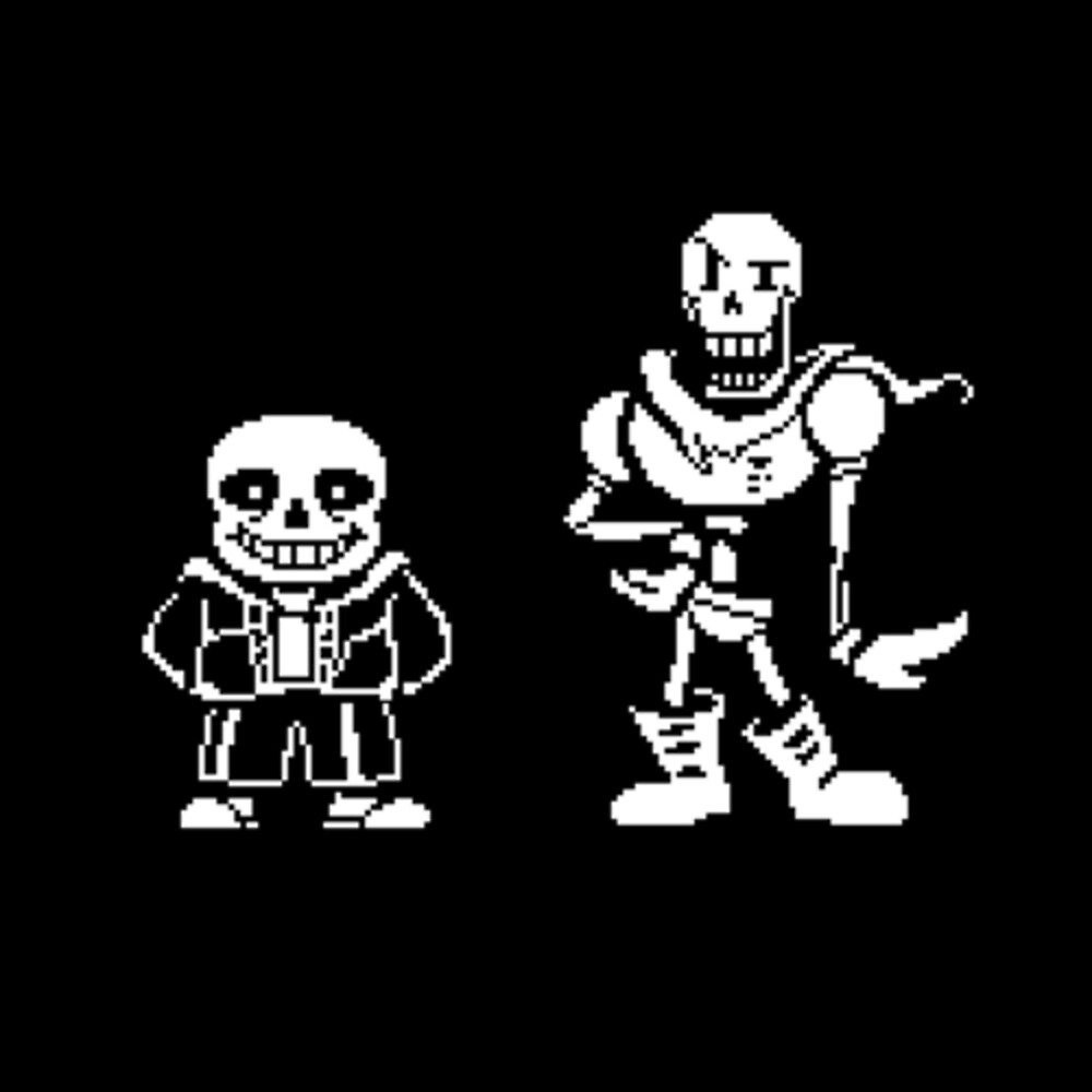 Quot Papyrus And Sans From Undertale Quot By Chaseabob123123