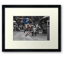"""Catching Air"" Framed Print"