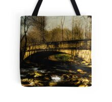 Bridge in The Great Smoky National Park Tote Bag