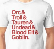 Horde (Red Version) Unisex T-Shirt