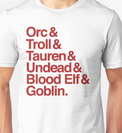Horde (Red Version) Unisex T-Shirt