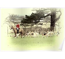 Running with Hounds Poster