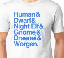 Alliance (Blue Version) Unisex T-Shirt