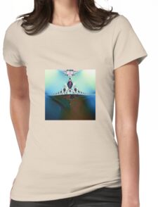 From the Depths Rising Womens Fitted T-Shirt