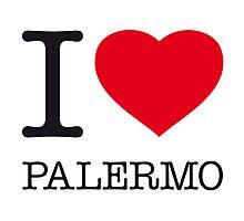 I ♥ PALERMO Photographic Print