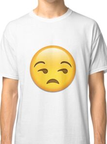 Unamused face Classic T-Shirt