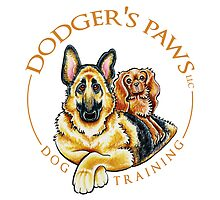 Dodger's Paws | Logo Design by Off-Leash Art by offleashart