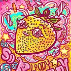 Happy Strawbie by fionfairyland