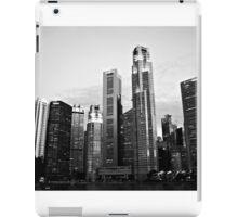 Urban Landscape Singapore iPad Case/Skin
