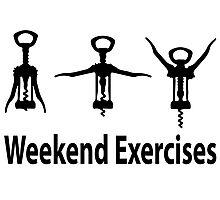 Weekend exercises Photographic Print
