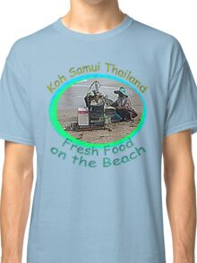 Thai Beach Food Classic T-Shirt