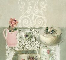 Vintage Tea Party by Sarah Jarrett