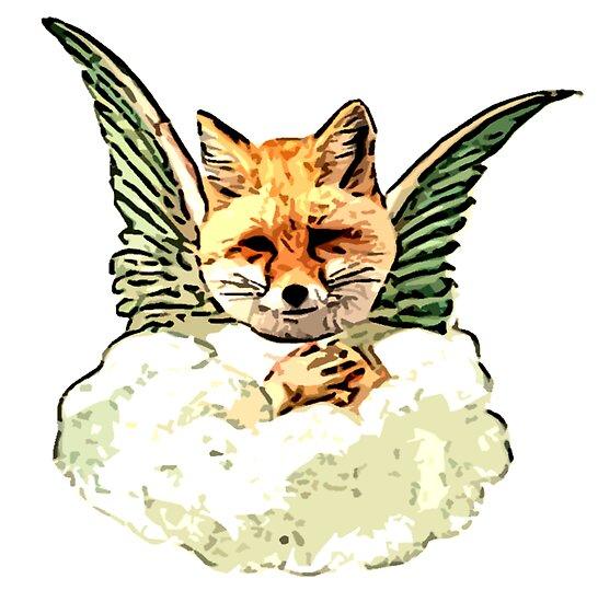 Angel Fox by Rob Cox