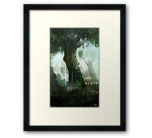 Elven Tree Framed Print