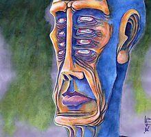 Portrait of Eight Eyes by r4fu