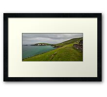 Slea Head, Dingle Peninsula, Ireland Framed Print