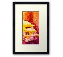 fungus family Framed Print
