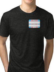 Hello, My PRONOUNS Are (Trans Pride Edition) Tri-blend T-Shirt