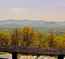 Blueridge View by James Brotherton