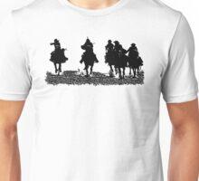 CowBoys riding their Horses Unisex T-Shirt