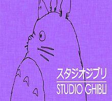 Studio Ghibli Iconic Print by GiraffesAreCool