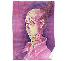 Portrait of The Anus Man Poster