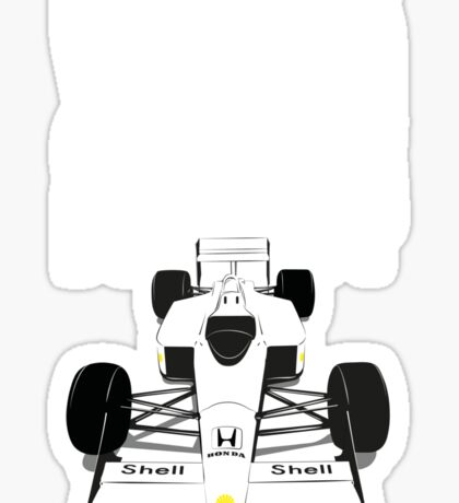 McLaren MP4 Sticker