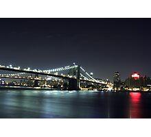 Nighttime Cityscape Photographic Print