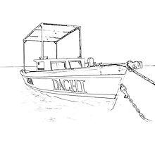 Fishing Boat of the Caribbean II Photographic Print