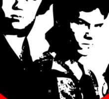 Brock and Chest, American Badasses Sticker