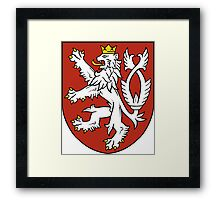 Bohemia Coat of Arms  Framed Print